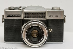 Rank Mamiya Auto Lux 35 fixed lens slr camera