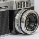 Rank Mamiya Auto Lux 35 fixed lens slr camera side view