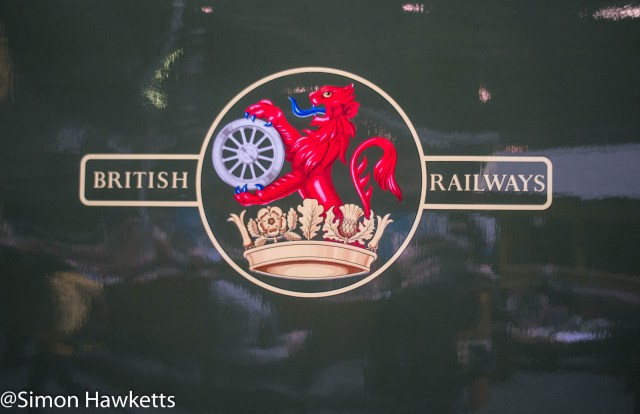 Nation Railway Museum pictures - British rail sign