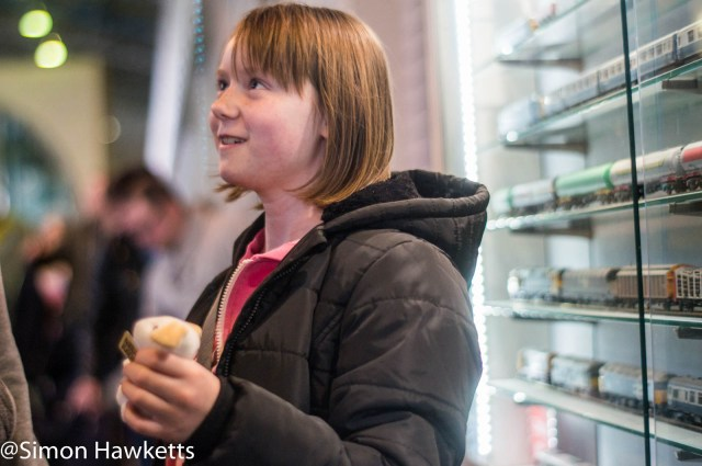 Nation Railway Museum pictures - A small girl with sweets