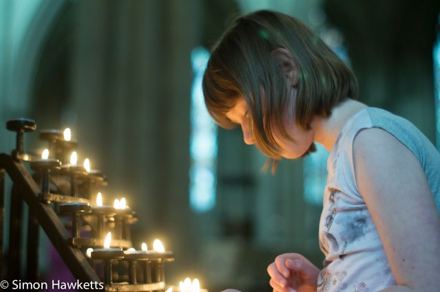 Looking for a space for another candle in York Minster