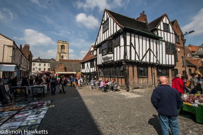 Tudor house in the shambles in York