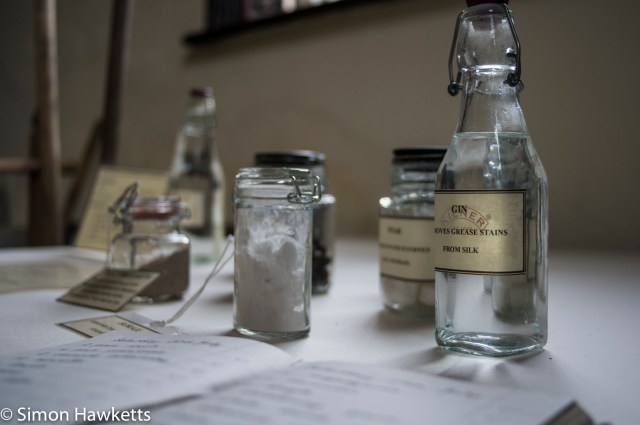 Beningborough Hall pictures - Glass bottles