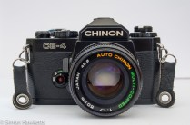 Chinon CE-4 - front view