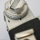Miranda Sensorex II 35mm slr - lens maximum aperture selection switch