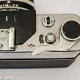 Taron Unique 35mm rangefinder camera frame counter and film advance
