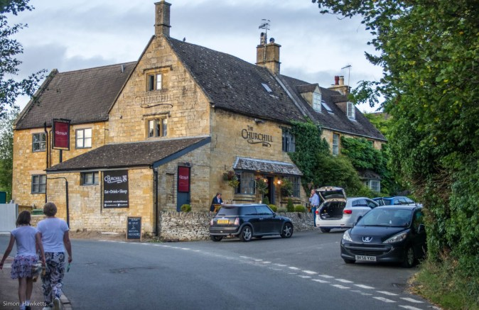 A Pub by the roadside in Gloucestershire
