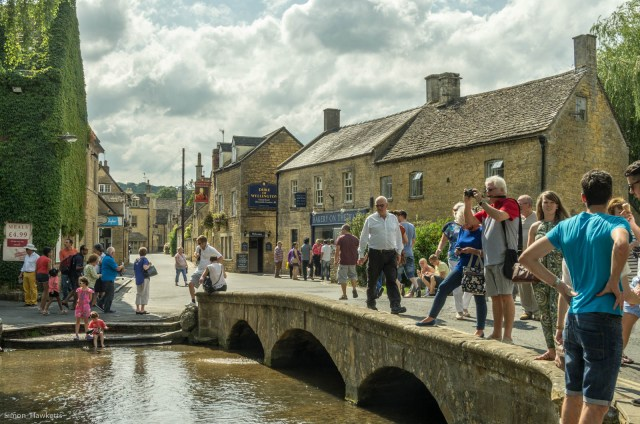 The bridge at Bourton on the water