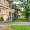View up the high street in Chipping Campden