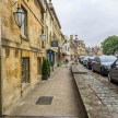 Looking down the High Street in Chipping Campden