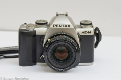 Pentax MZ-M 35mm manual focus slr