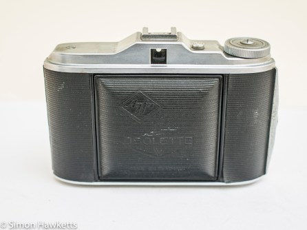 Agfa Isolette V - Lens closed