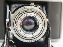 Agfa Isolette V - Shutter speeds and focus