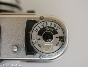 Voigtlander vitoret D match needle light meter