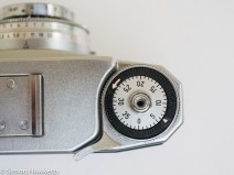 Zeiss Ikon Contina 35mm viewfinder camera film advance