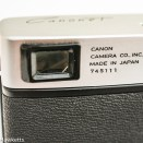 Canon Canonet - viewfinder