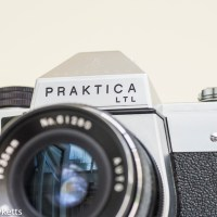 Praktica LTL 35mm vintage SLR camera.