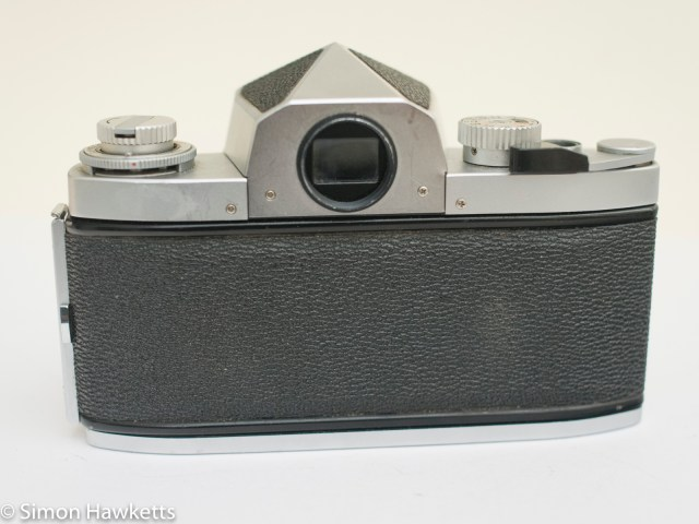 Soligor TM 35mm slr camera showing back view