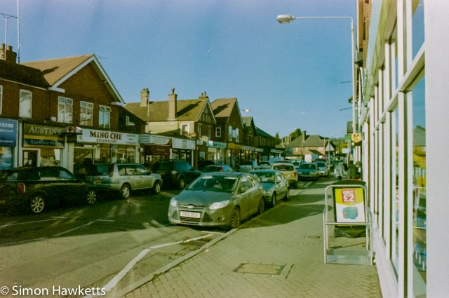 Digibase C41 home processed picture - Knebworth high street