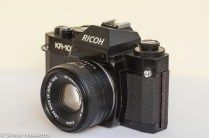 Ricoh KR-10 35mm SLR side view