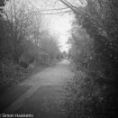 Voigtlander bessa 66 sample picture - One of the cycle paths in Stevenage