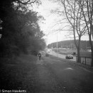 Voigtlander bessa 66 sample picture - The cycle path by the football ground in Stevenage