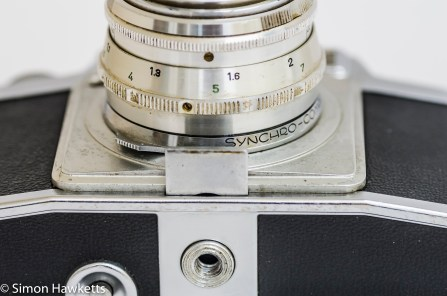 Agfa Ambi Silette 35mm rangefinder camera - Table stand withdraw