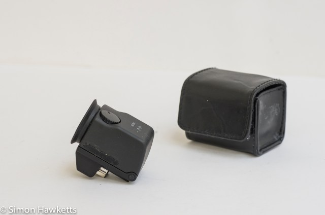 Ricoh GXR viewfinder vf-2 - viewfinder with case