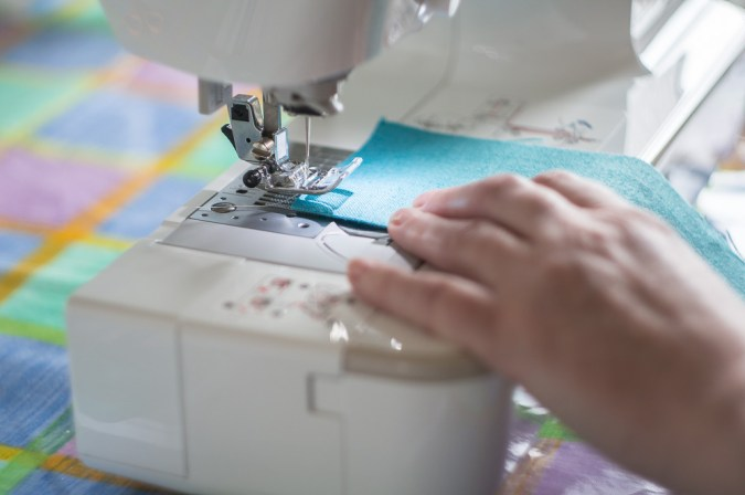 Helios 44M sample pictures - Sewing machine
