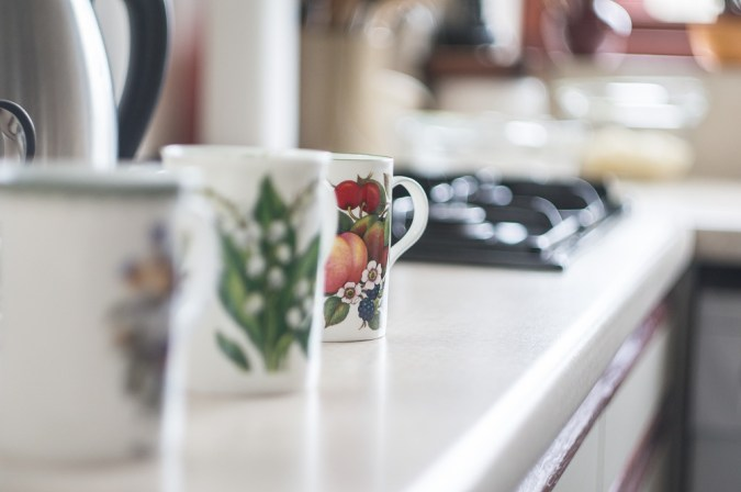 Mugs in close focus - Helios 44M sample pictures