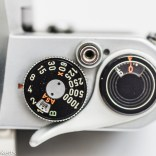 Pentax Spotmatic SPII 35mm slr camera - Film counter, shutter speed and shutter release
