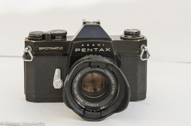Shabby Pentax Spotmatic SPII in black 1