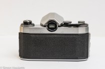 Praktica Super TL 35mm slr - rear view