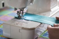 Sewing machine with slow shutter speed - Helios 44M sample pictures