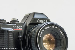 Konica TC-X DX 35mm manual focus vintage camera