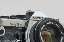 Olympus OM-2 35mm slr front view