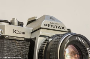 Pentax K1000 35mm manual focus camera