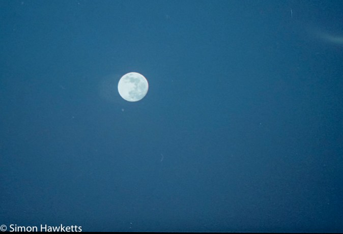 Pentax MZ-3 sample photographs - The moon