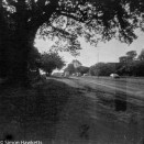 Kodak Brownie Reflex samples - Contemporary picture taken on outdated film of the road to Hertford