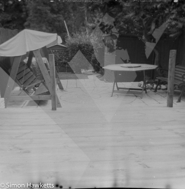 Kodak Brownie Reflex samples - Original picture found on film