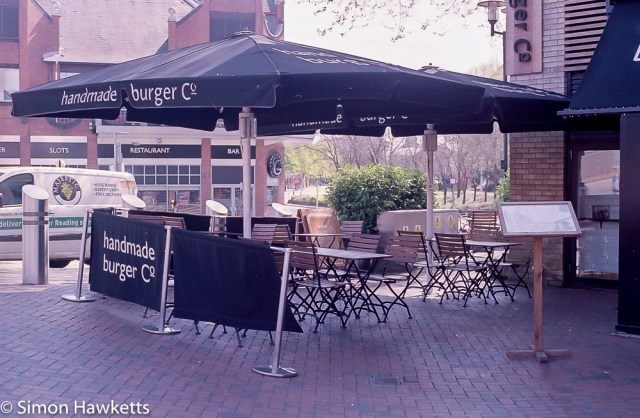 Minolta X-700 sample pictures - The Handmade burger Co in Reading