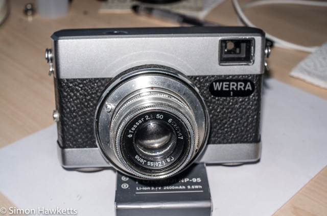 Repairing a Werra 1 Camera - Part two 12