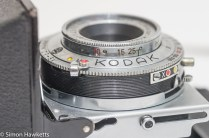 Kodak Retinette Type 017 35mm folding camera - lens and self timer with flash sync