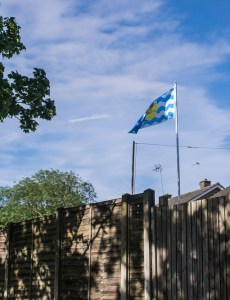 Sigma Mini-Wide on Fuji X-T1 sample pictures - fluttering flag