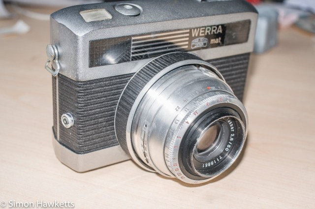 Carl Zeiss Werra Mat reassembly after strip down and refurbishment - part 3 10