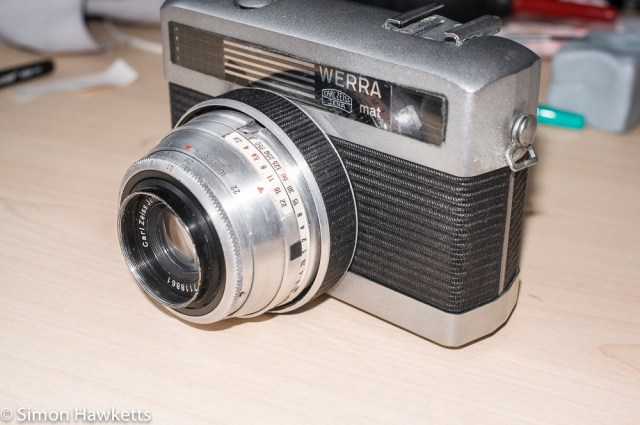 Carl Zeiss Werra Mat reassembly after strip down and refurbishment - part 3 11