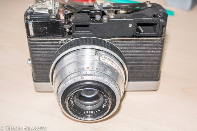Carl Zeiss Werra Mat reassembly after strip down and refurbishment - part 3 7