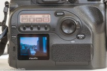 Fuji finepix S2 Pro DSLR - picture display