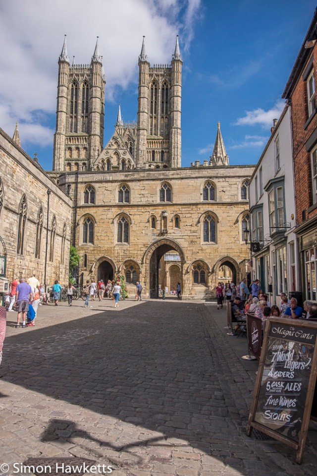 Lincoln city pictures with fuji x-t1 - Lincoln cathedral spires