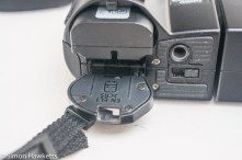 Nikon Coolpix 4500 digital camera - battery compartment